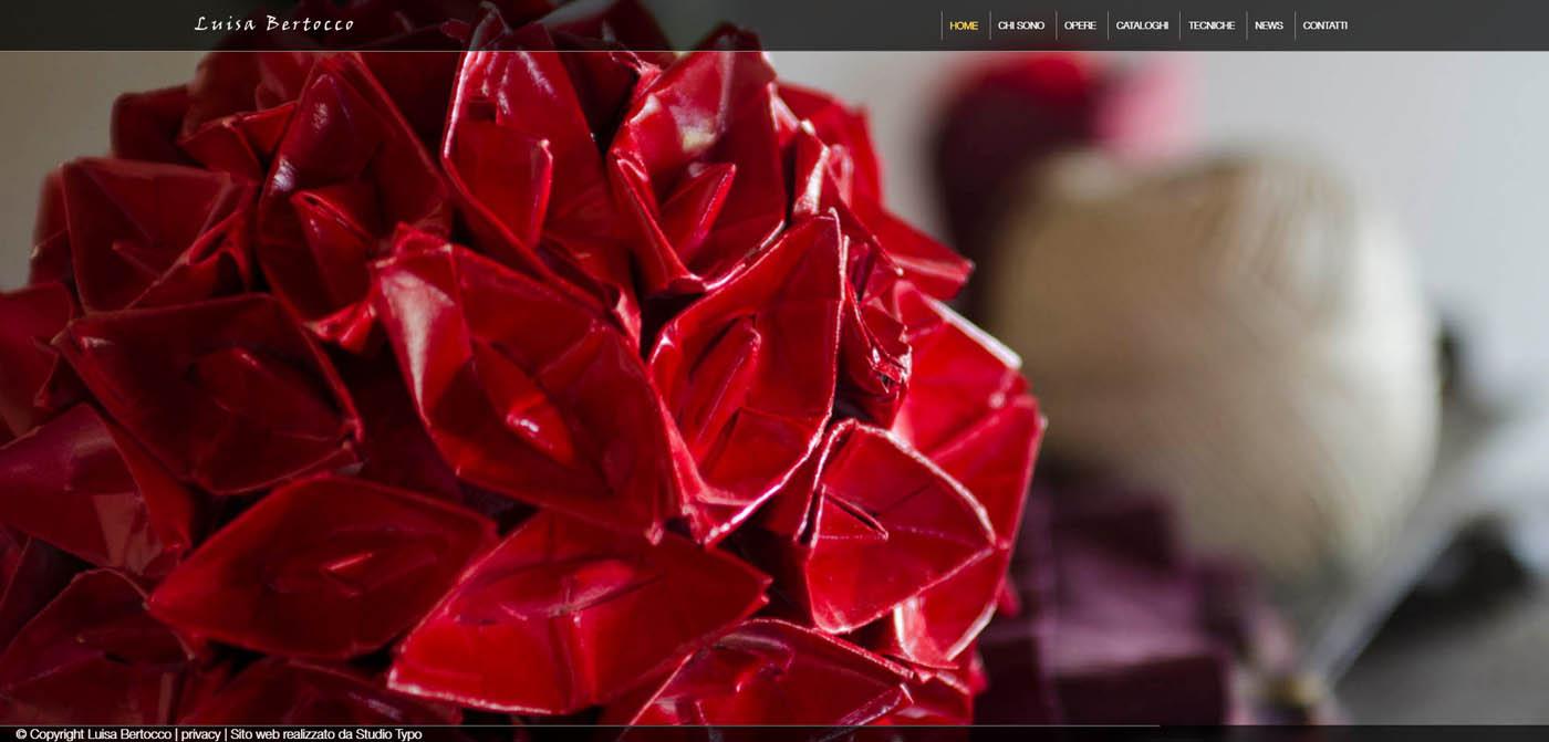 homepage Luisa Bertocco