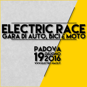 Motion Graphic Electric Race