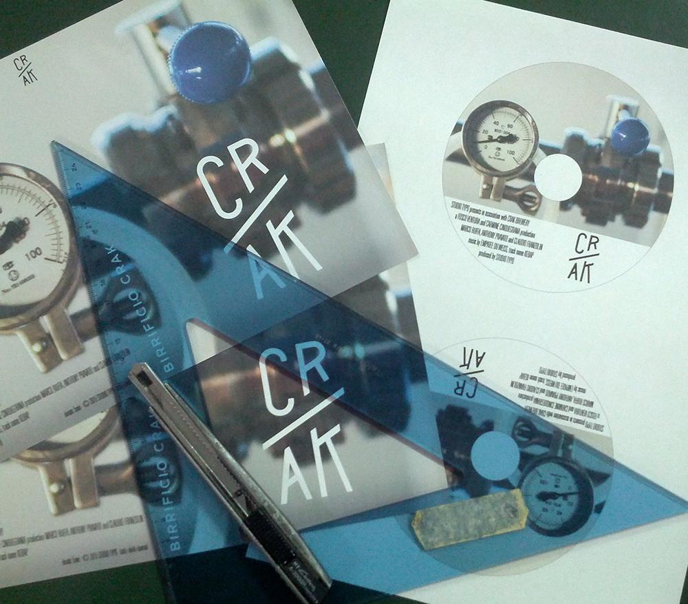 cr/ak grafica copertina dvd