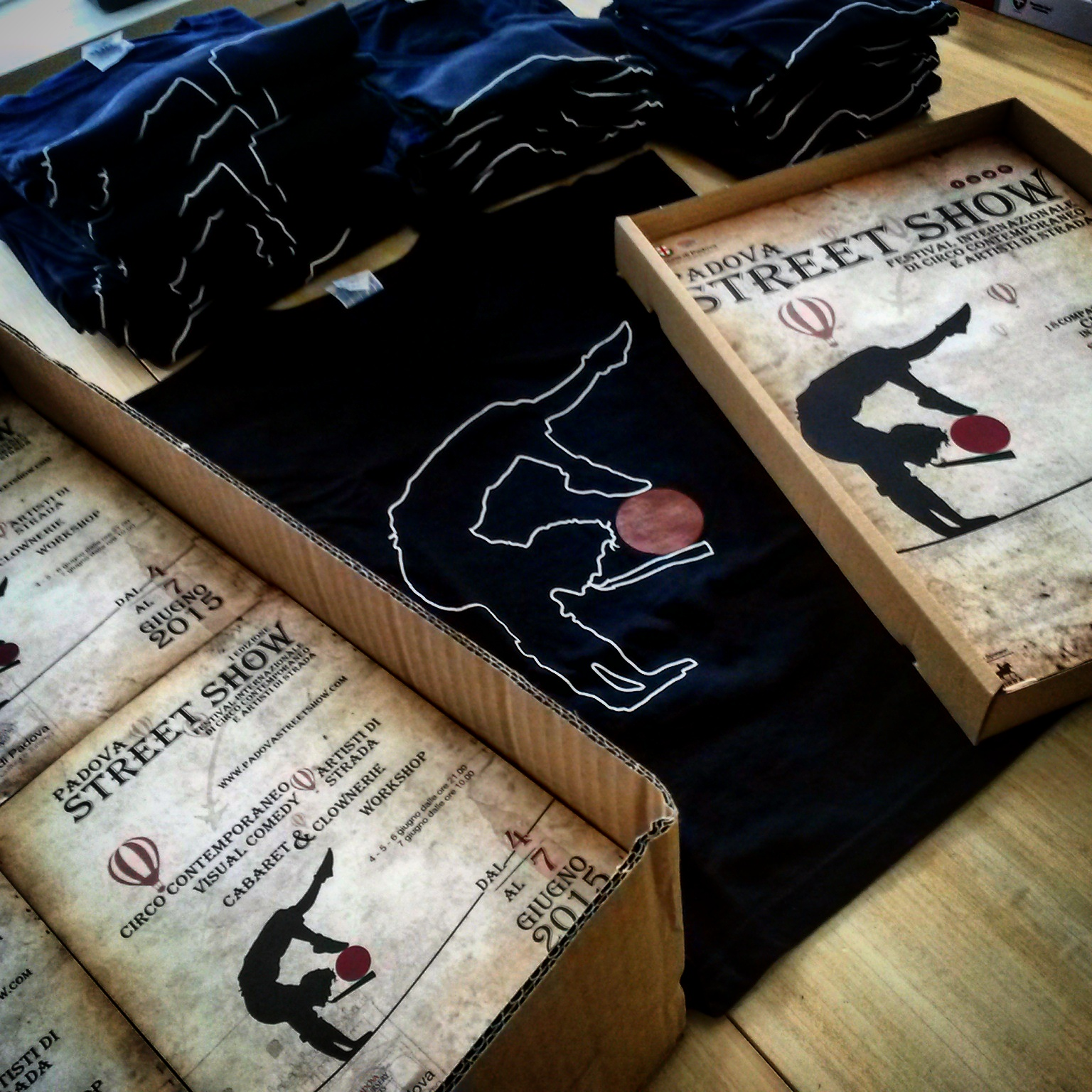 grafica magliette Padova Street Show