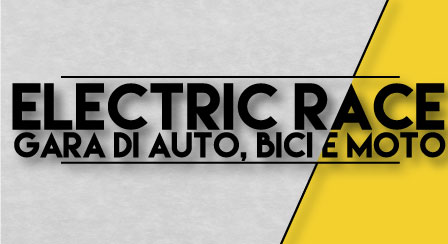motion graphic electric race grafica logo