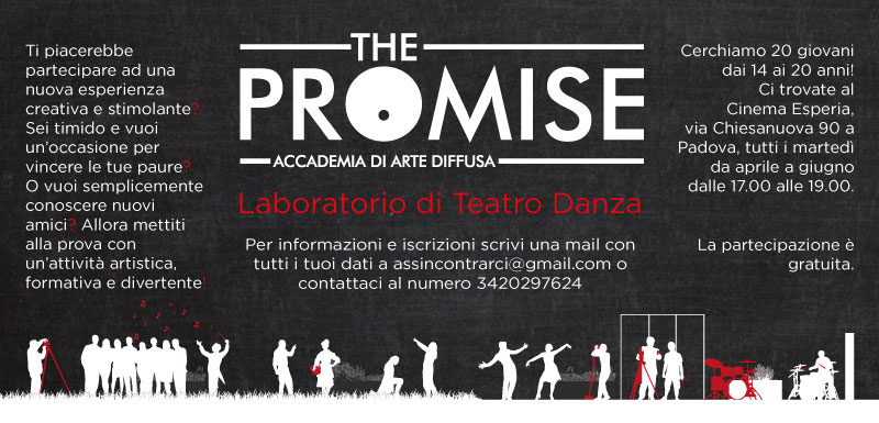 the promise padova grafica